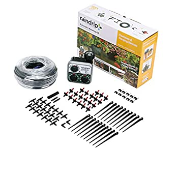 Raindrip R560DP Automatic Watering Kit for Container and Hanging Baskets Water up to 20 plants with this kit  Black