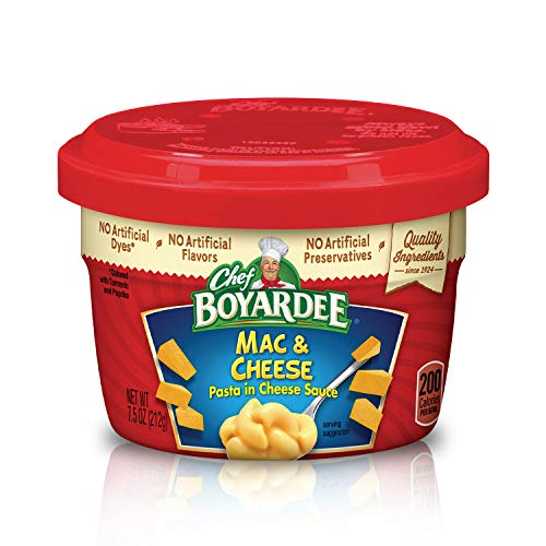 Chef Boyardee Mac & Cheese, 7.5 Oz. Microwavable Bowls (Pack of 12) $11.76