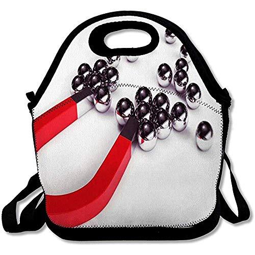 Picknick rugzak, krachtige magneet, houdt veel stalen bollen, veel verschillende zoekopties, herbruikbaar, geïsoleerd