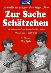 Cover der Erstausgabe-DVD Zur Sache Schätzchen mit Werner Enke und Uschi Glas, Regie May Spils