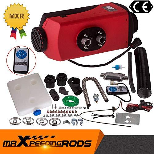 maXpeedingrods 12V 2KW-8KW Diesel-Luftheizung Digitalschalter 10LTank 1xSilencer Auto LKW Boot