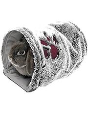 Túnel para mascotas reversible serie Snuggles de Rosewood