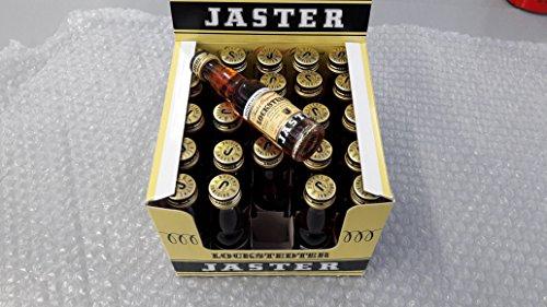 25 kleine Flaschen a 0,02L Lockstedter Jaster Gronauer kräuterlikör 45% Vol.