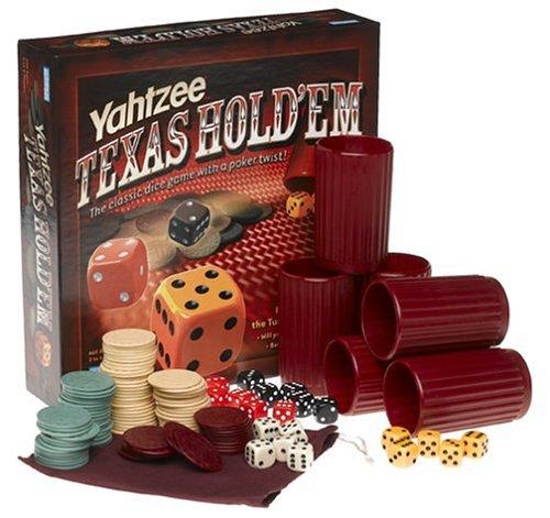 Hasbro Gaming Yahtzee Texas Hold' Em