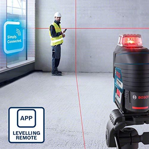 Bosch Professional Linienlaser GLL 3-80 C & Empfänger Set - 6