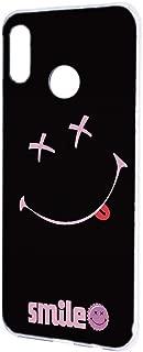 HUAWEI nova lite 3 (POT-LX2J) ケース ハードケース 【ペケポン:ピンク】 スマイル smile ニコちゃん ノバライトスリー スマホケース 携帯カバー [FFANY] pekepon-h190953