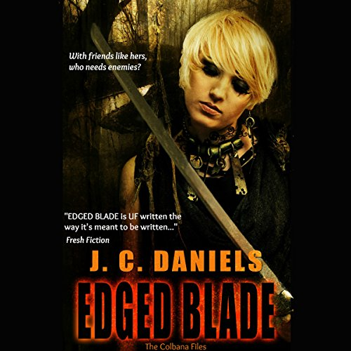 Edged Blade audiobook cover art