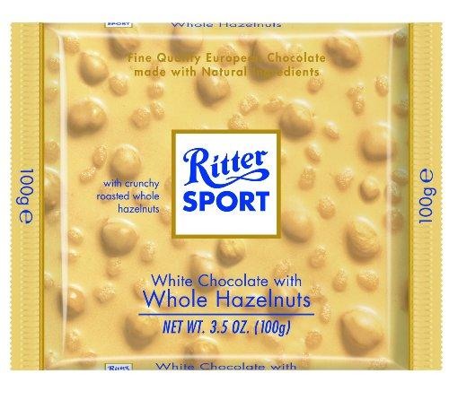 image of Ritter Sport Hazelnut White Chocolate