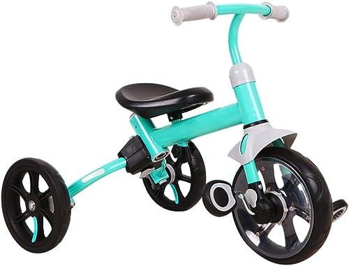 Ahorre hasta un 70% de descuento. XYAOYAN Triciclos Triciclo Triciclos para Niños Triciclo Evolutivo Bebé 2 2 2 En 1 Trike Kinderkraft Triciclo Estructura Ligera Y Fácil De Manejar 2 Colors ( Color   verde )  tomamos a los clientes como nuestro dios