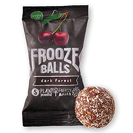 Health Shopping Frooze Balls Plant Protein Powered Fruit & Nut Energy Balls, Variety Pack Gift Box (Pack of 6) Each Pack Has 5 Balls!