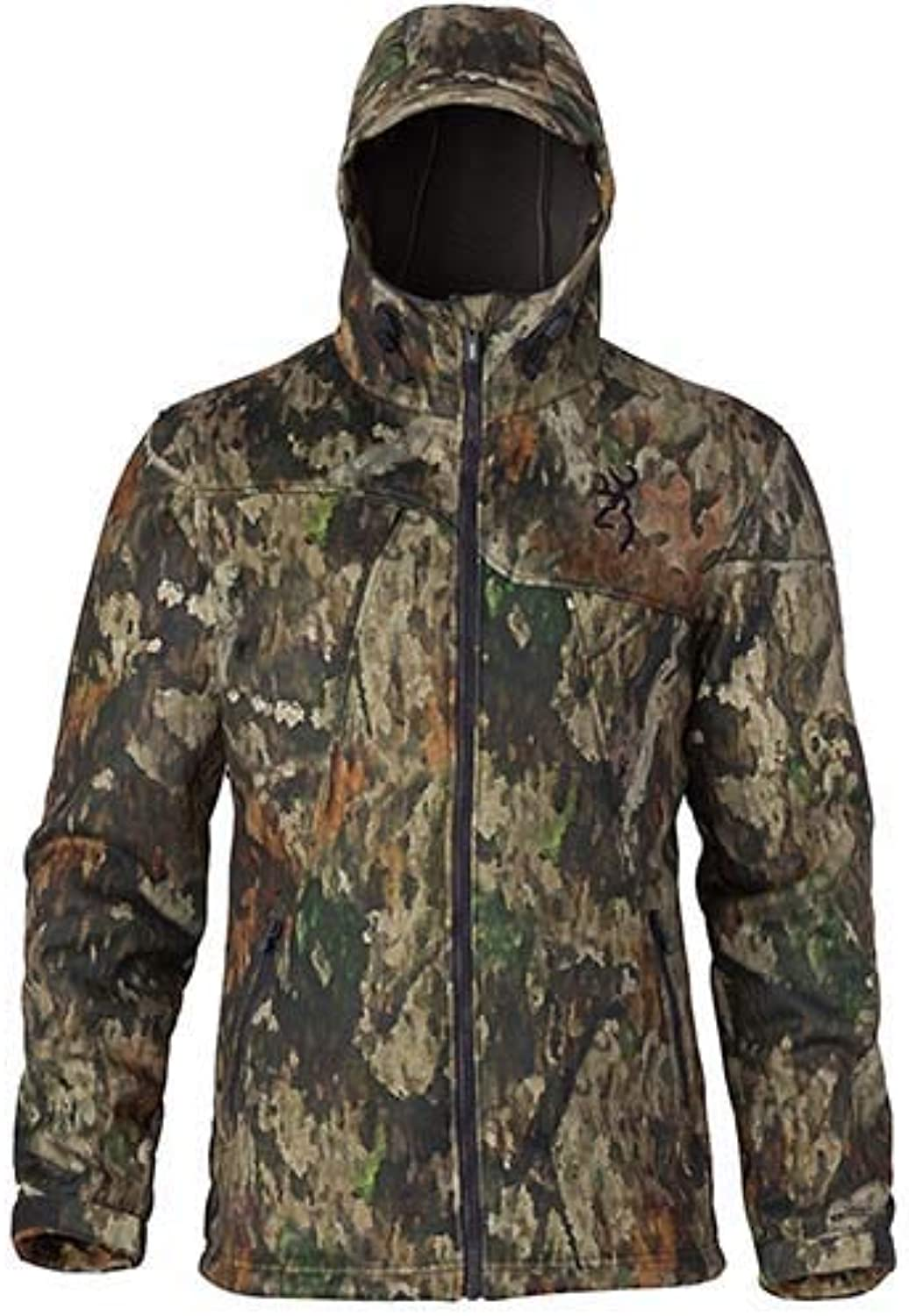 Browning 3048523203 Hell's Canyon Speed HellfireFm Insulated Gore Windstopper Jacket, Atacs Tree Dirt Extreme, Large