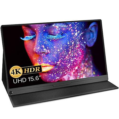 モバイルモニター EVICIV 15.6インチ モバイルディスプレイ 4K Adobe100%色域 HDR 薄型 IPSパネル USB Type...