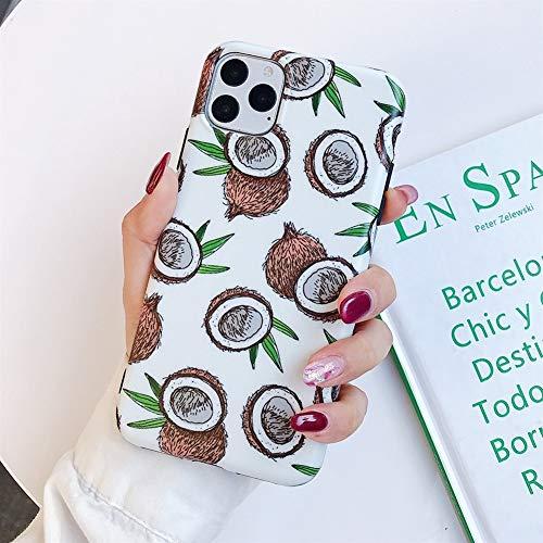 case Frutta del fumetto Avocado Phone for ịphone 11 Pro case case case case Case Case Case Case Case Case Case Case Case Max XR X XS Max 7 Borse 8 6 Plus Caso completo del corpo morbida IMD copertina