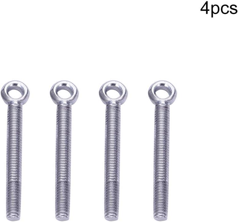 M6 x 30 2PCS MRO190804N-0032 MroMax 10 St/ück M6 x 20 mm /Ösenschraube Hebering /Ösenschrauben 304 Edelstahl Achse Pin Split Pin Shaft Pin D/übel Bolzen Ring Schraube Loch-Schraube