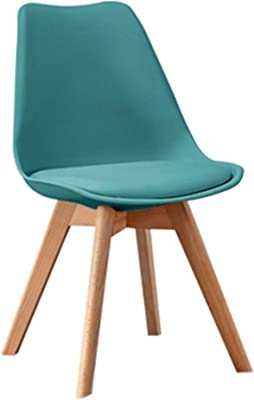 Dining Chairs Dining Chair, Kitchen Chairs with Padded Seat, Home Office Dinning Chair, Four Corner Solid Wood Casual Retro Dining Chair, Dining Chair in