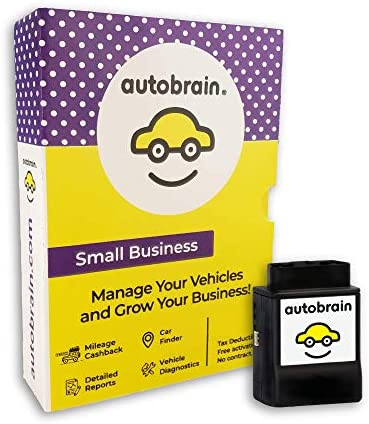 Autobrain GPS Tracker for Business Vehicles Cars Trucks 1 Month Data OBDII Real Time Location product image