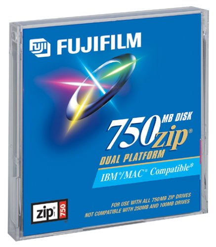 Fuji 750MB Zip Disk (Discontinued by Manufacturer)