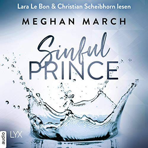 Sinful Prince (German edition) audiobook cover art