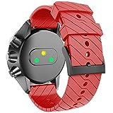 NotoCity Compatible con Correa Suunto 9 Spartan/Titanium/Smart Watch GPS/Suunto Spartan Sport Wrist HR (Rojo)