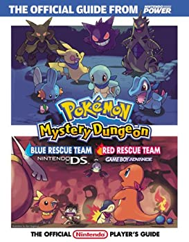 Official Nintendo Pokémon Mystery Dungeon: Blue Rescue Team/Red Rescue Team  Player's Guide 1598120107 Book Cover