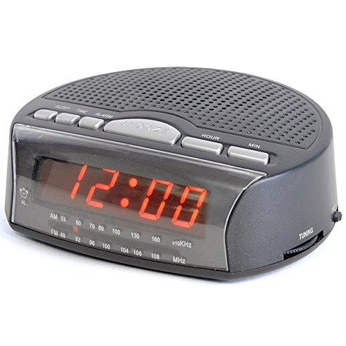 LLOYTRON 'Daybreak' Alarm Clock Radio with Buzz Alarm or Radio - Snooze...