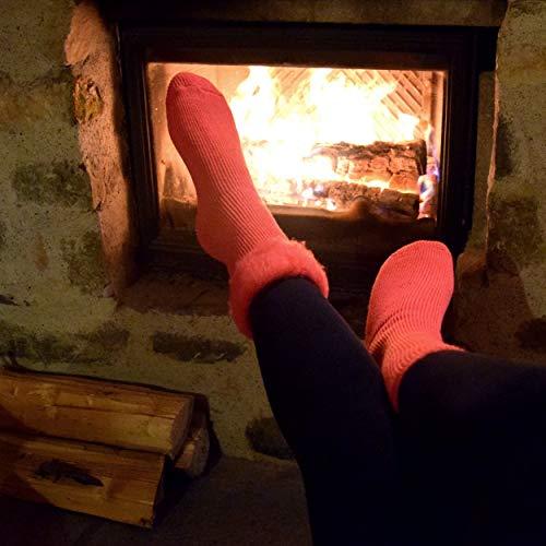 Heat² Damen H2-01-2039-4-900-1 Socke, rosa, 37-42 - 4