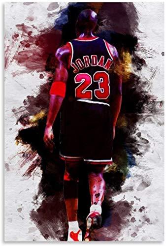 Adultos Puzzle 300 Piezas Niños Rompecabezas Jugador de baloncesto MVP Micheal_Jordan 15.7x11inch(40x28cm) Sin Marco