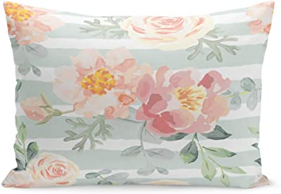 Amazon.com: Fundas de almohada de Semtomn colorido patrón ...
