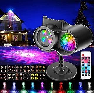 Best solar projector christmas lights Reviews