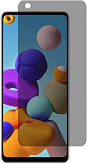 Al-HuTrusHi Samsung Galaxy A21s Anti-Glare Privacy Screen Protector Tempered Glass [3D Touch][Case Friendly] Bubble Free