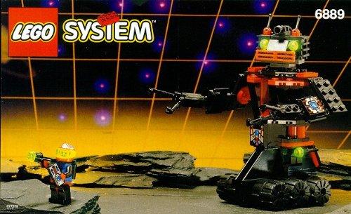 LEGO System Spyrius 6889 Multifunktions-Roboter