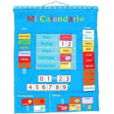 Fiesta Crafts-Mi Calendario español (1) de Fiesta Crafts