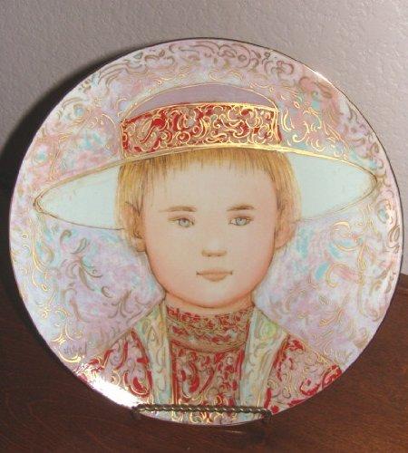Edna Hibel Gerard Collector Plate