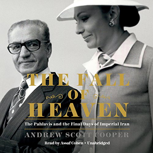 The Fall of Heaven audiobook cover art