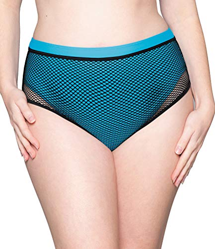 Curvy Kate Catch of The Day High Waist Brief Blue 20