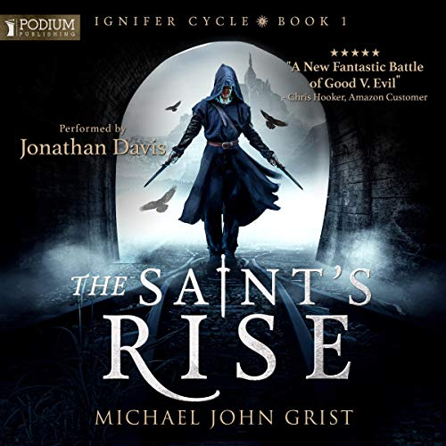 The Saint's Rise audiobook cover art