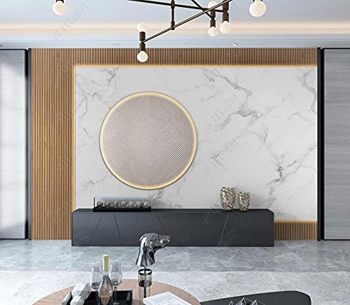 Wallpaper 3D Wallpapers for Walls Mural Marble Wood Grain Geometry Wall Murals for Bedrooms and Living Room Tv Background Wall Mural Decoration Art 350cmx256cm