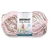 Bernat Little Petunias Baby Blanket Big Ball Yarn (04421)