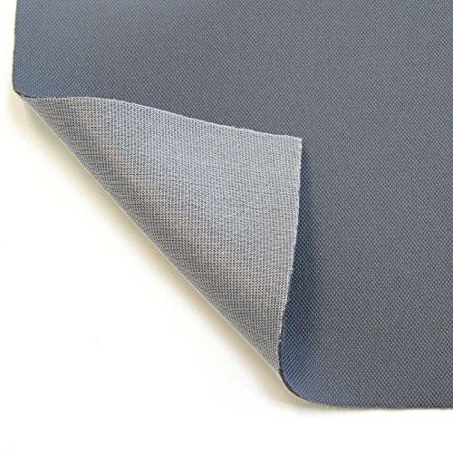 Neumann Handelsvertrieb Autohimmelstoff Himmelstoff Dachhimmel Bezugsstoff Polster (Grey)