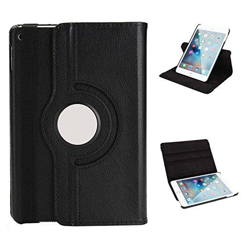 Funluna iPad 9.7 2018 Funda - Giratoria 360 Grados de Rotación Carcasa con Stand Función y Auto-Sueño/Estela para Apple 9.7 Pulgadas iPad 2018&2017/ iPad Air 2/ iPad Air Tableta