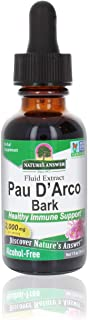 Nature's Answer PAU D'Arco Inner Bark | Supports Healthy Immune System | Helps Maintain Intestinal Flora | Alcohol-Free, G...