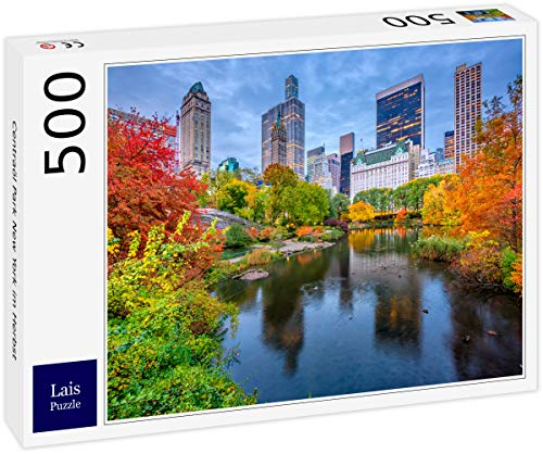 Lais Puzzle El Central Park de Nueva York en otoño 500 Piezas