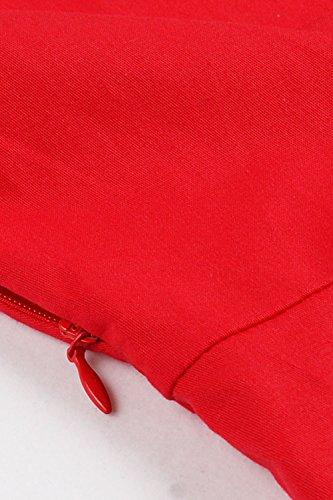 Babyonline Rockabilly 50er Polka Dots Punkte 1950er Kleid Petticoat Faltenrock L - 4
