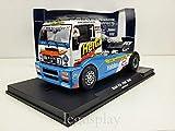 FLy Slot Scalextric GBtruck 08037 Compatible Camion, Man Fia ETRC 2004 Lutz Bernau