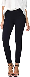Womens Slim Comfort Fit Skinny Leg Stretch Pull-On Work Pants