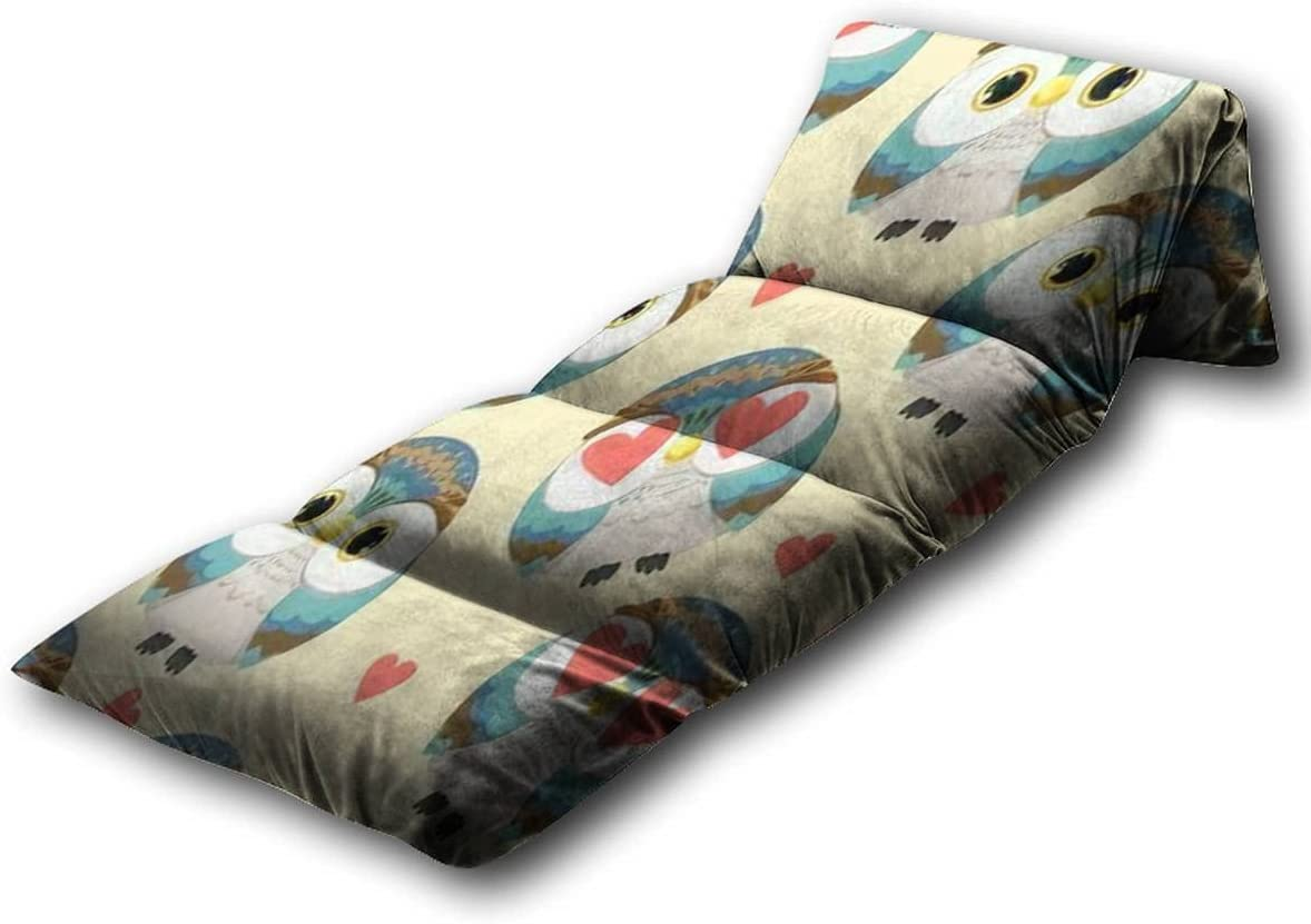 Indianapolis Mall Kids Floor Pillow Owl Pattern Val Bacground Seamless overseas for