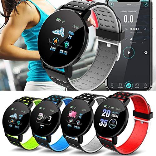 Sivane Pantalla táctil Smart Watch Sports IP67 Impermeable Monitor de sueño de Ritmo cardíaco Smartwatches