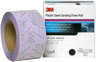 3M 30706 Hookit 334U Purple 70 mm x 12 m P280 Grit Clean Sanding Sheet Roll
