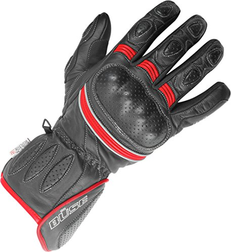 Büse Pit Lane Damen Handschuhe 5 Rot/Schwarz