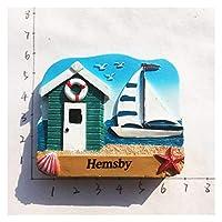 冷蔵庫用マグネット 磁気冷蔵庫ステッカー3D樹脂製の家の装飾 (Color : 19)